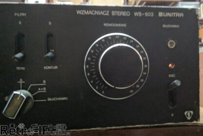 Unitra WS 503 amplifier RETRO IF 04