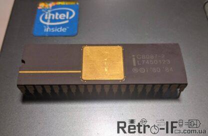 Intel c8087 2 fpu Retro IF 001