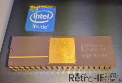 Intel c8087 2 fpu Retro IF 002
