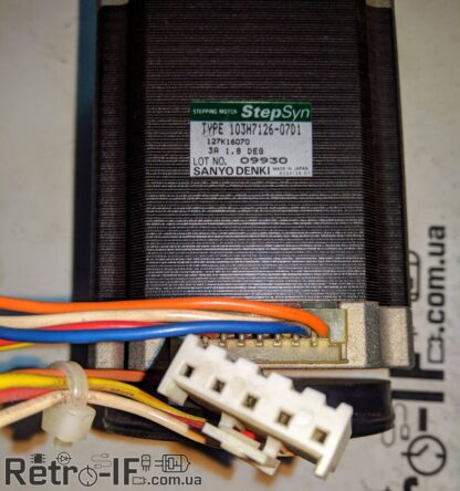stepping motor sanyo 103h7126 07d1 Retro IF 003