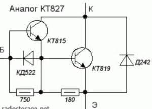 analog kt827