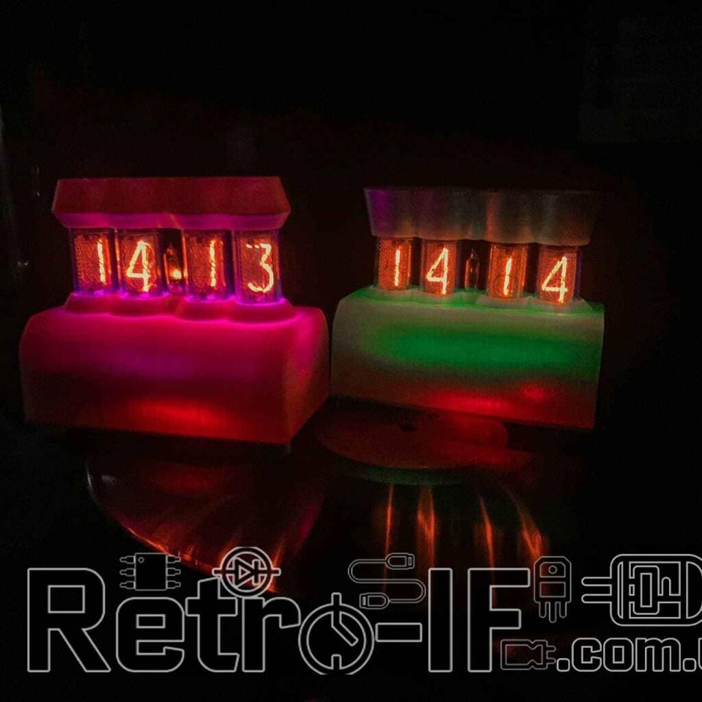 Nixie Clock IN-14 Годинник на ИН-14